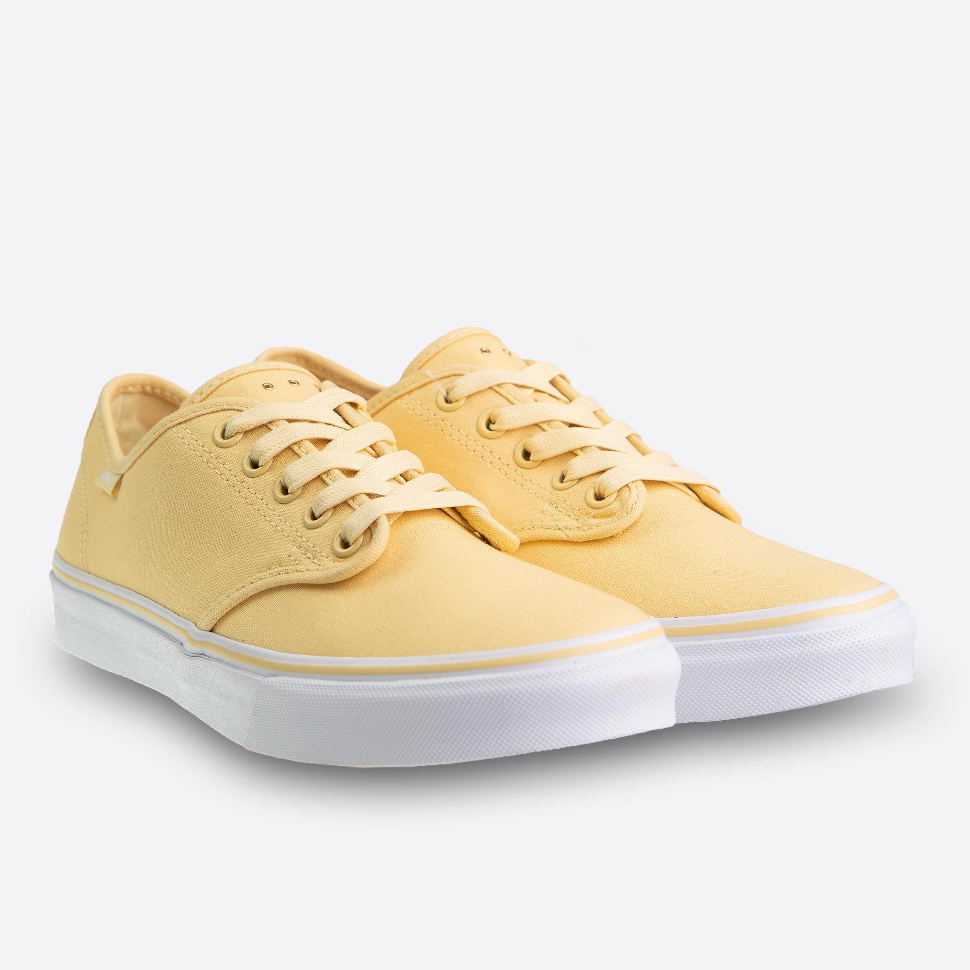 392979cade Dámske žlté tenisky Vans Camden Stripe Micro Eyelets Pineapple Slice
